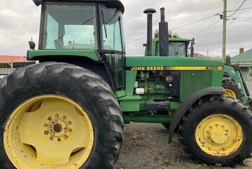 1990 John Deere 4055 Compact Ut Tractors